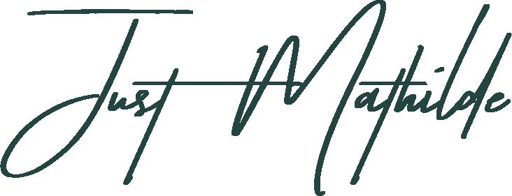 Just Mathilde Logo kun tekst